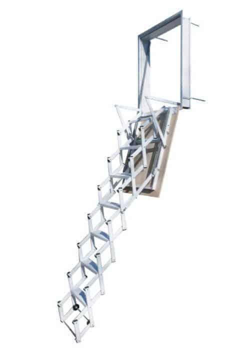 bb1ee1913 Escalera plegable tipo tijera Elegant Pared / Wood
