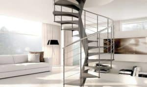 Escaleras helicoidales diferencia con escaleras de caracol | Enesca.es
