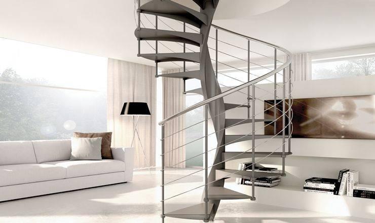 Escaleras helicoidales para decoración exclusiva