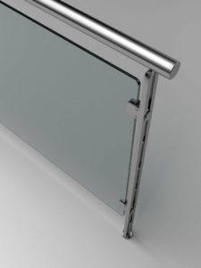 Barandas y escaleras de cristal
