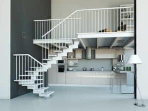 Escaleras para espacios reducidos, menos es más | Enesca.es