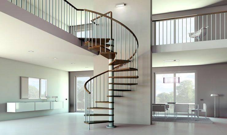 Cómo escoger las mejores escaleras de caracol para tus proyectos