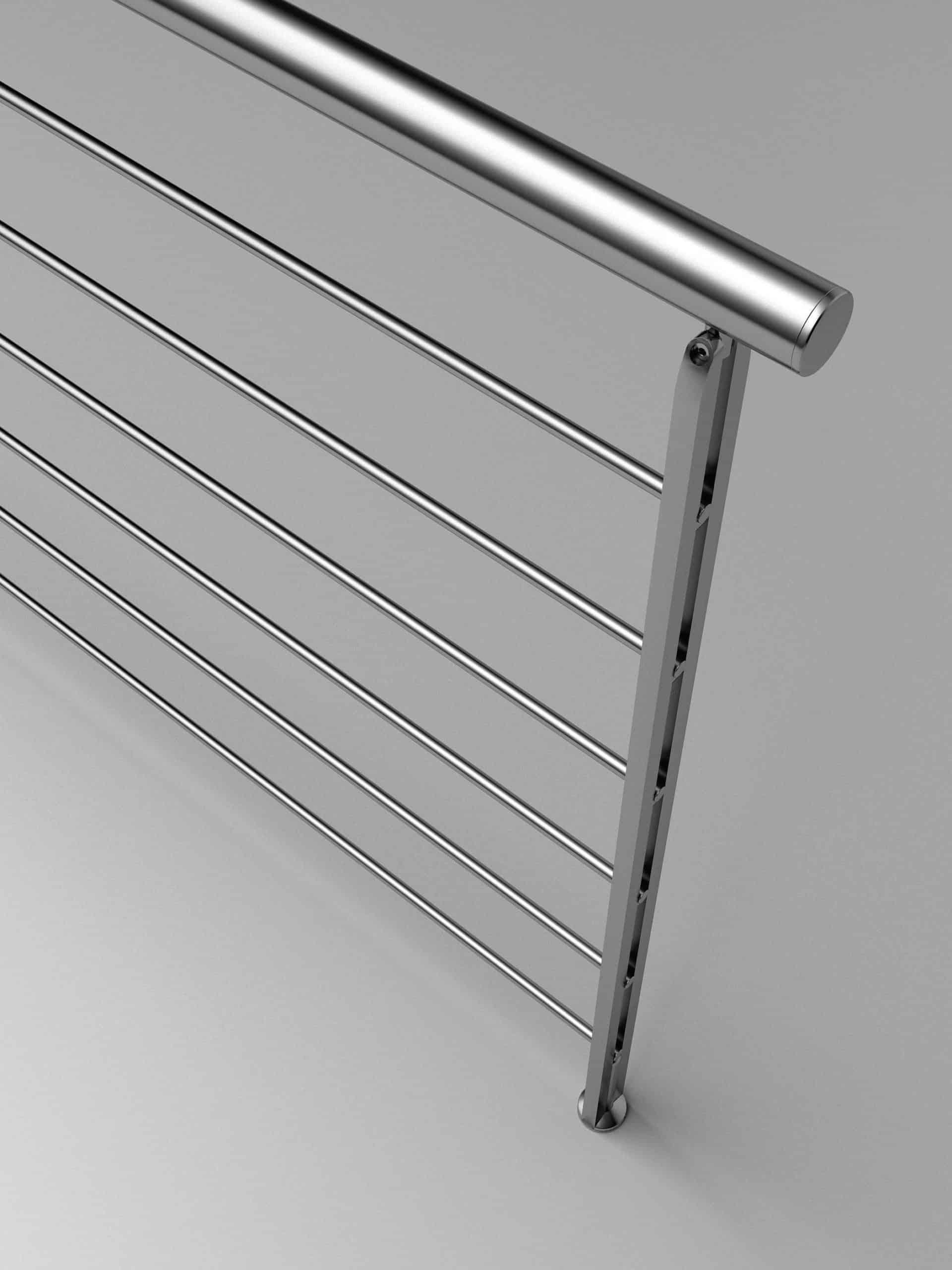 Barandillas metálicas para escaleras de Enesca.es