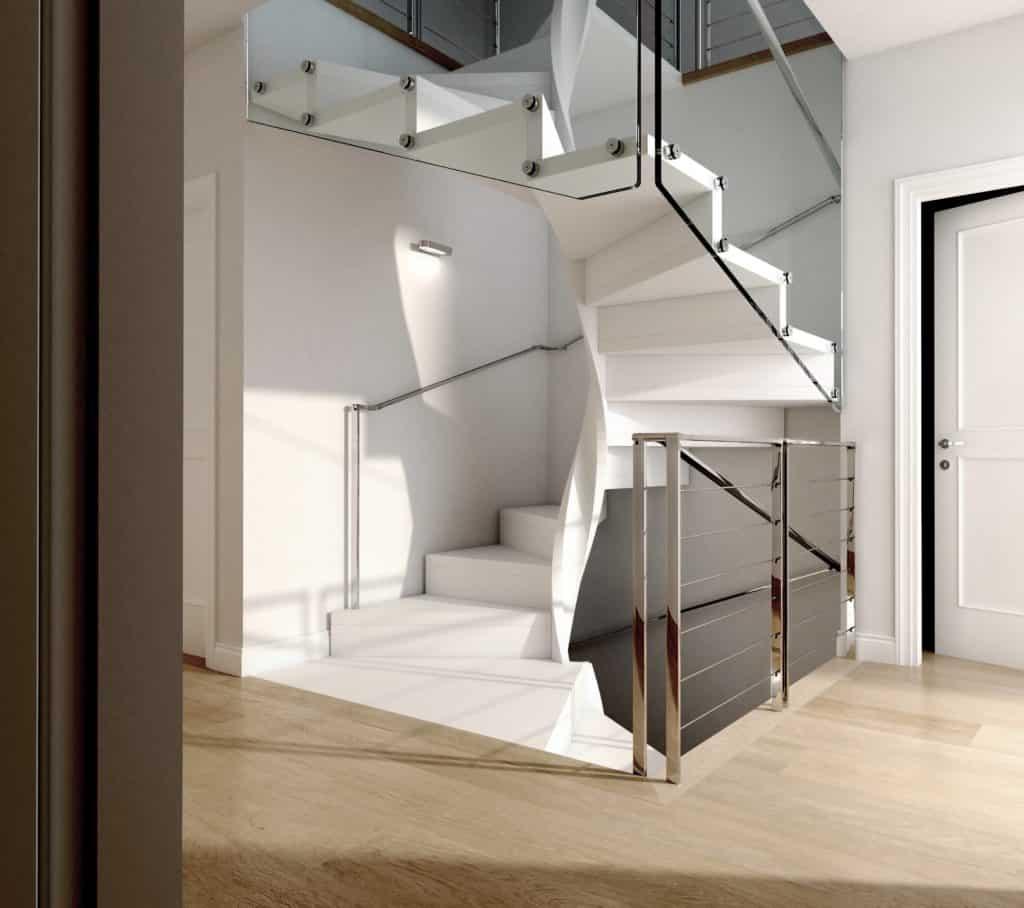 Escalera de caracol Serie E20, el configurador profesional | Enesca.es