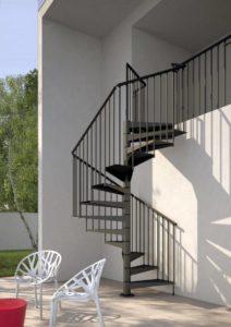 Escalera de caracol exterior kit