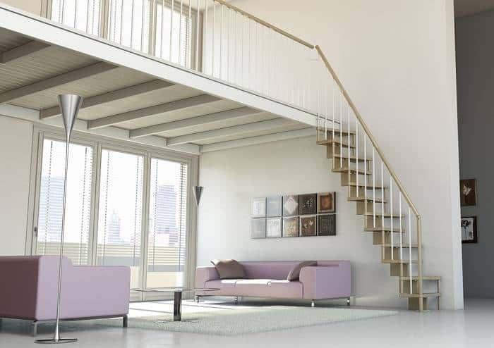 Escaleras interiores confort Basik | Enesca.es