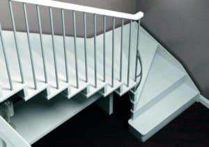 Cómo calcular las medidas de una escalera de interior