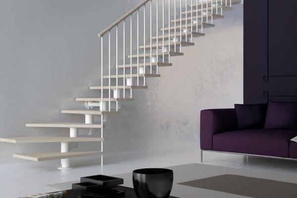 Escaleras interiores que suben hasta tus sueños