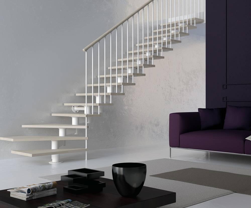 Tipos de escaleras de tramos para tu hogar | Enesca.es