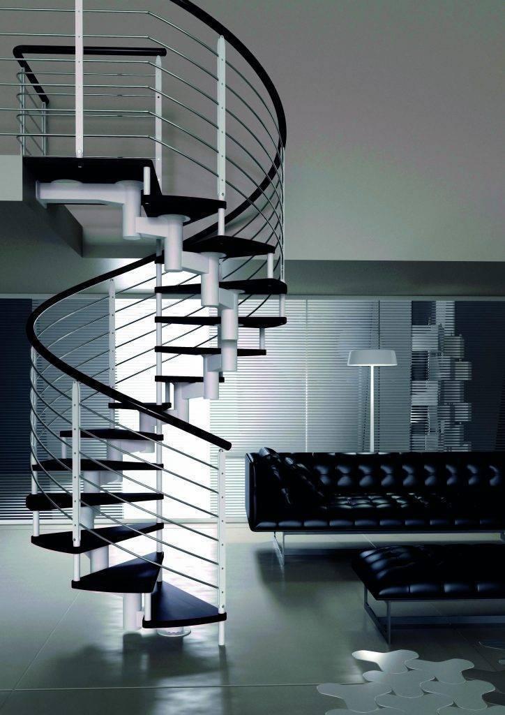 Escaleras de tramos o escaleras de caracol: ¿Cuál pongo en mi casa?
