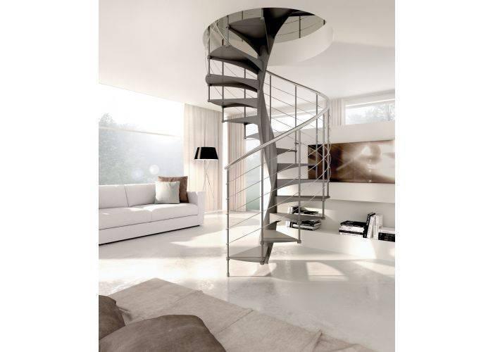 Escaleras de caracol de interior