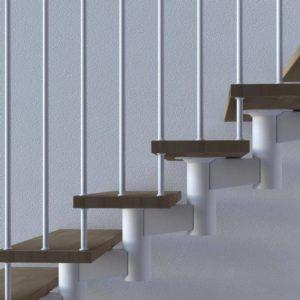 escaleras helicoidales para interiores