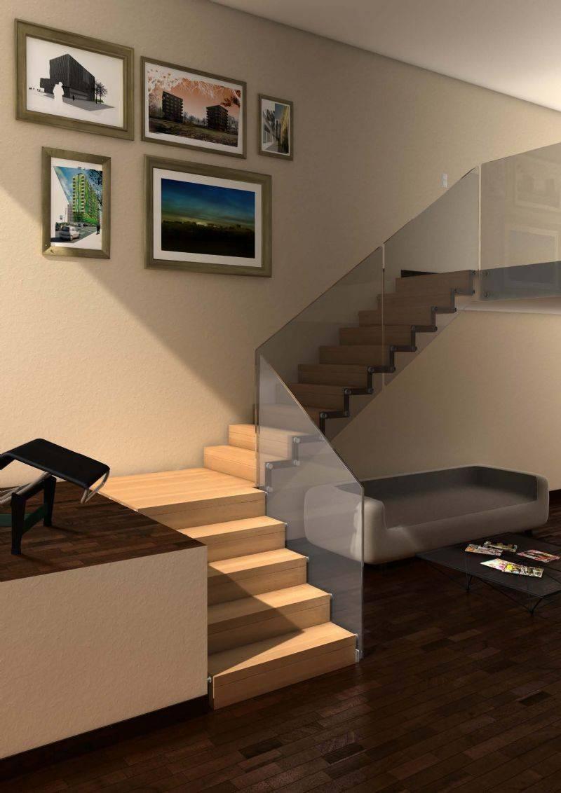 Revestimiento de escaleras para dar un toque especial