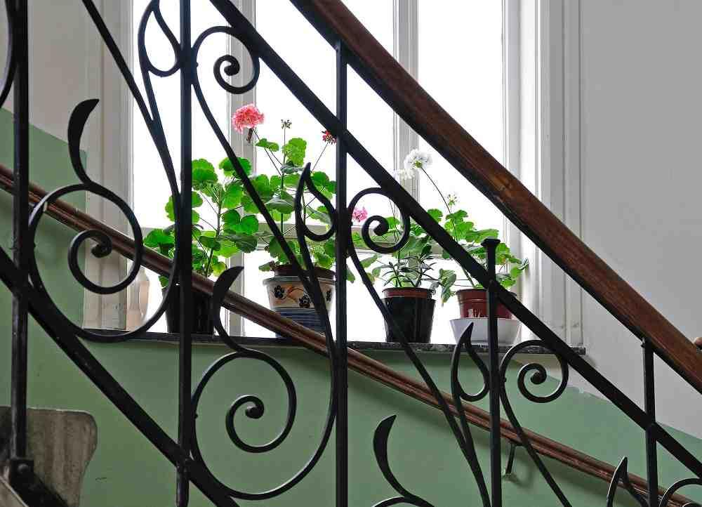 Barandillas para escaleras interiores