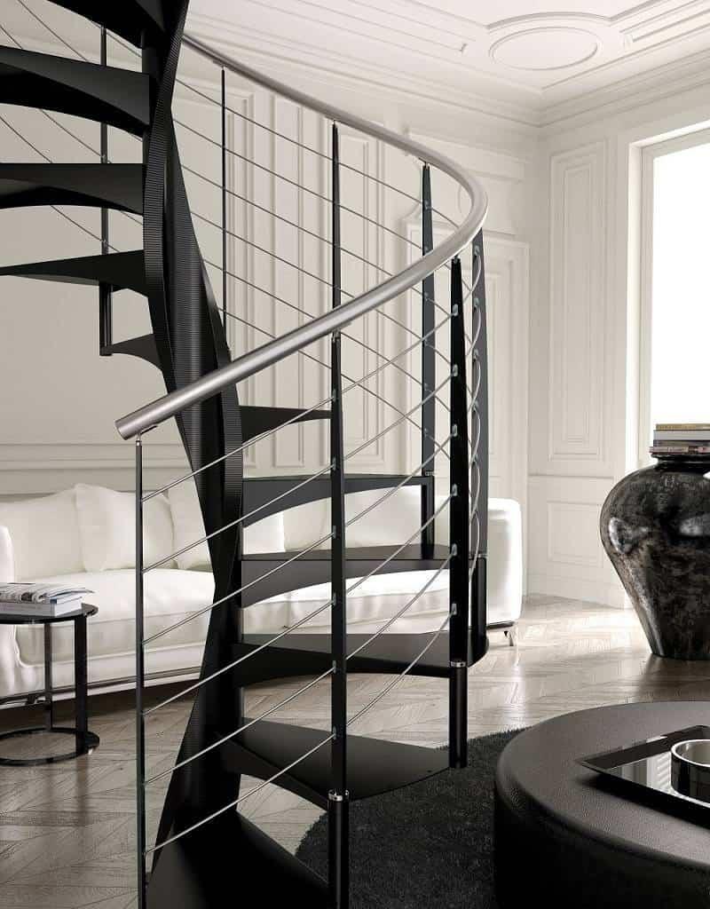 Escaleras de caracol E20-16