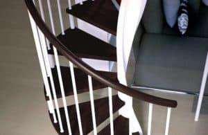 Escaleras de madera E20-10 de dos colores | Enensa .es