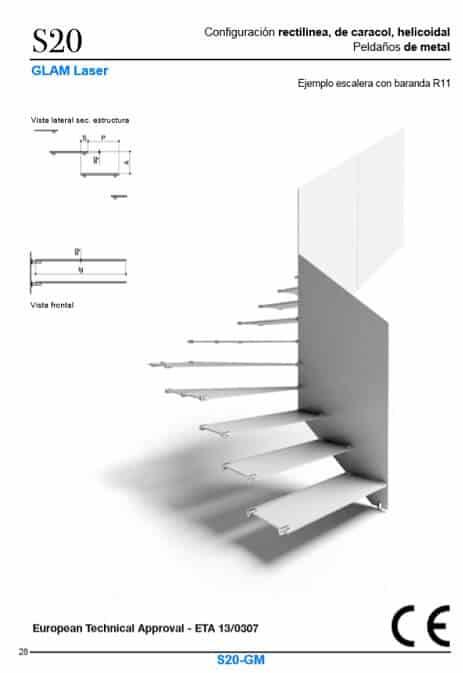 Escaleras Enesca con certificado CE