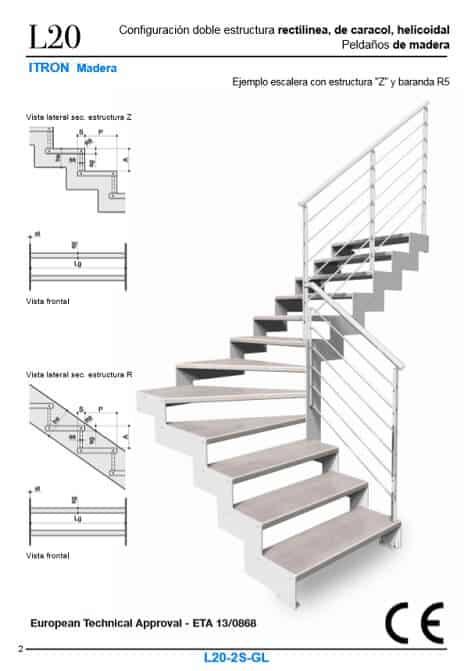 Escaleras Enesca con marcado CE