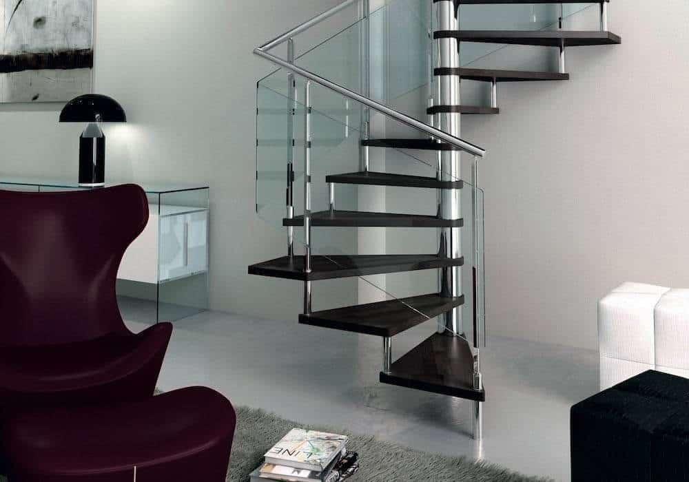 Escalera de caracol de madera good planos de escalera - Modelos de escaleras de caracol para interiores ...