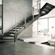 escalera de tramos modelo aris