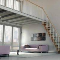Escaleras de madera el confort y la elegancia de la for Escalera madera 2 tramos