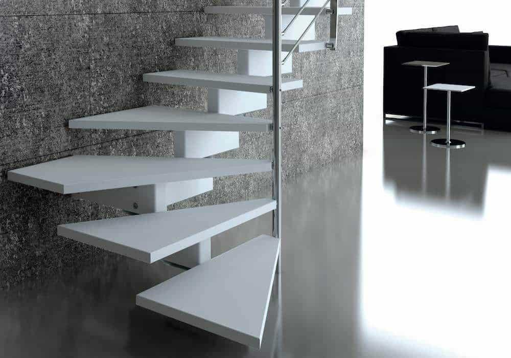 Escalera de tramo doxa wood dise o y tecnolog a - Escaleras de diseno ...