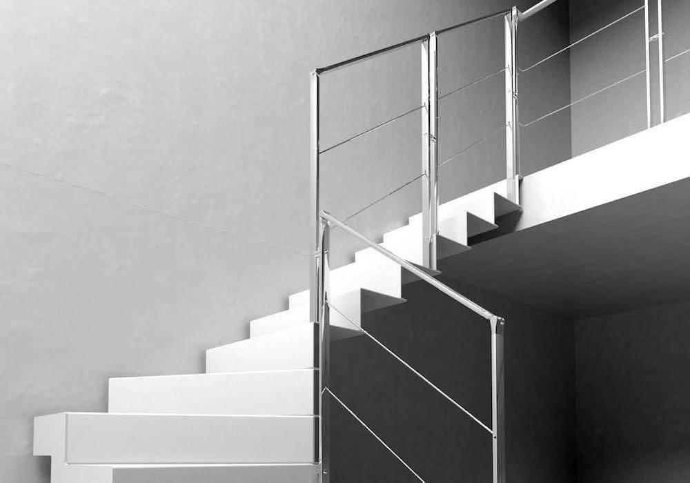 Barandillas modernas para escaleras escaleras de interior - Barandillas escaleras modernas ...