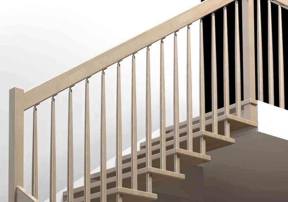 Barandas para escaleras de interior free resultado de for Barandas de madera para escaleras interiores