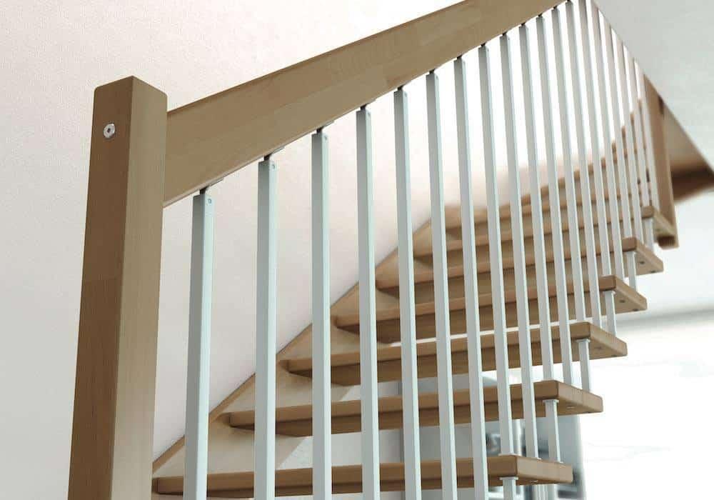 Barandillas para escaleras interiores good barandilla - Barandillas escaleras modernas ...