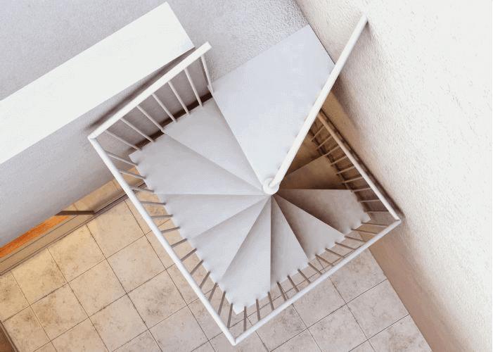 Imágenes de Escalera de caracol AKUA superior
