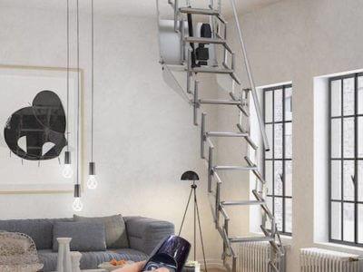 Escaleras Plegables Para Altillos. Interesting Escaleras Con ...