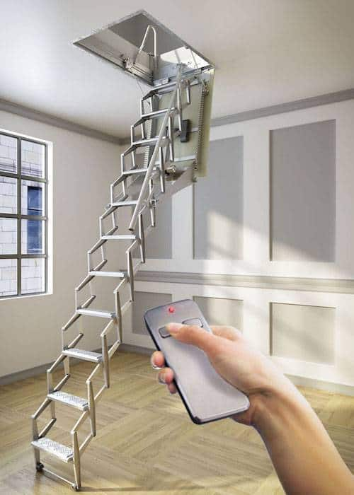 Escaleras para buhardilla amazing escaleras de interior - Escalera plegable para altillo ...