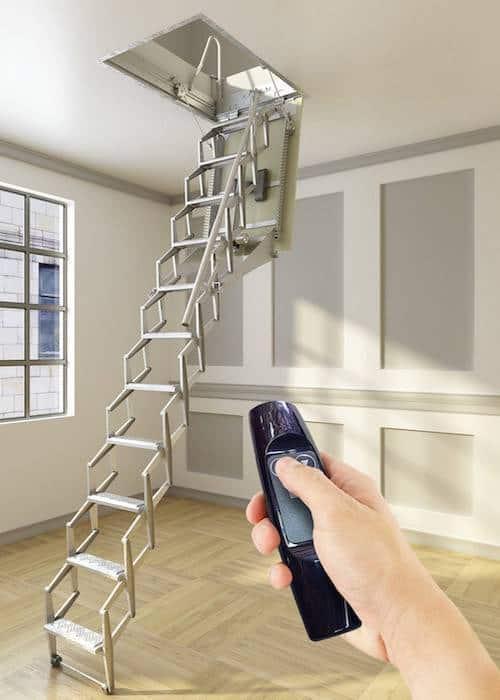Escalera plegable para techo Flexa Automática 300 Enesca.es