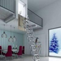 Escalera plegable para pared Flexa Pared