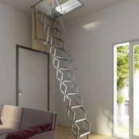 Escalera plegable para techo Flexa 300