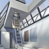 Escalera plegable Tramo Terraza