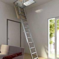 Escalera plegable techo Tramo 300