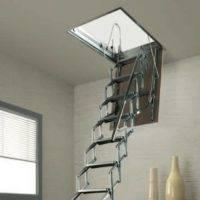 Imágenes de Escalera escamoteable Flexa S para techo