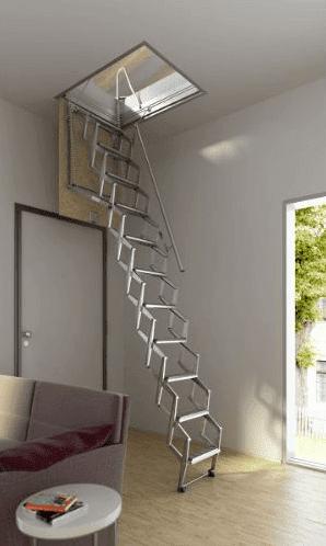 Imágenes de Escalera plegable modelo Flexa