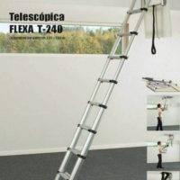 Escalera plegable telescópica T-240