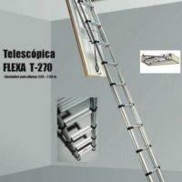 Escalera plegable telescópica T-270