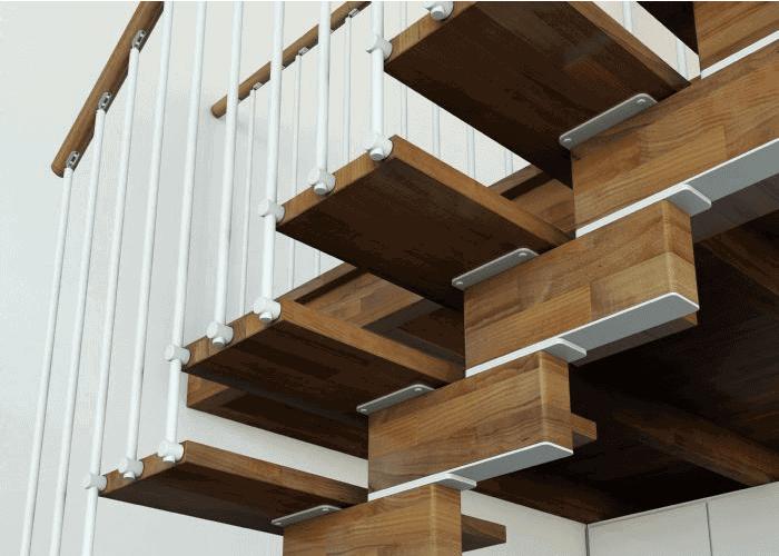 Imágenes de Escaleras a tramos en Kit modelo Krea
