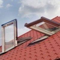 Ventana para tejado en pvc pivotante