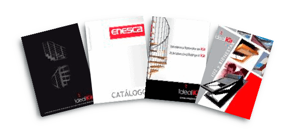 Fotos de catálogos de escaleras - Enesca