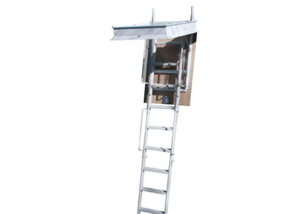 Elegant tramo escalera plegable a tramos para techo - Escaleras de techo ...