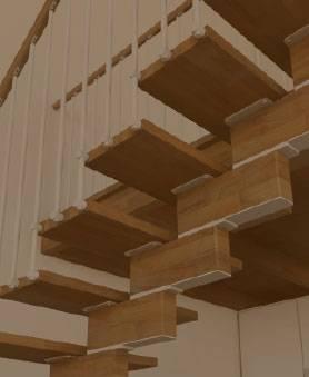 Fotos de escaleras de madera