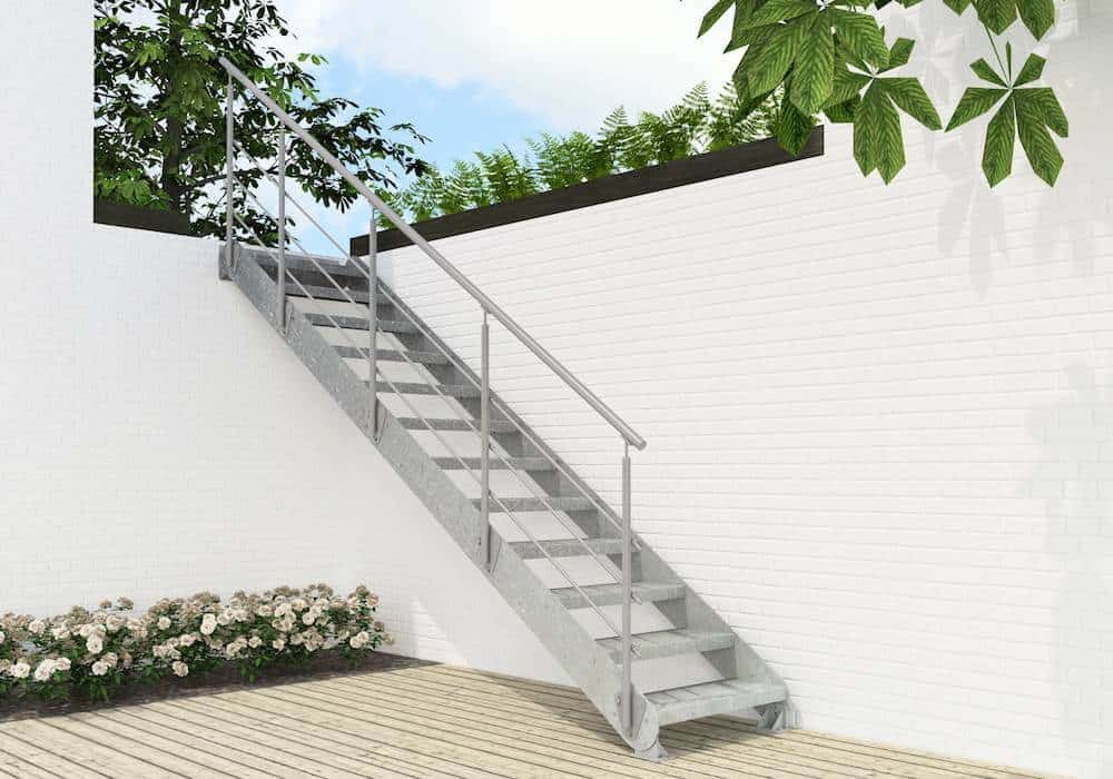 Escaleras enesca especialistas en dar confort a tu hogar for Como construir una escalera metalica