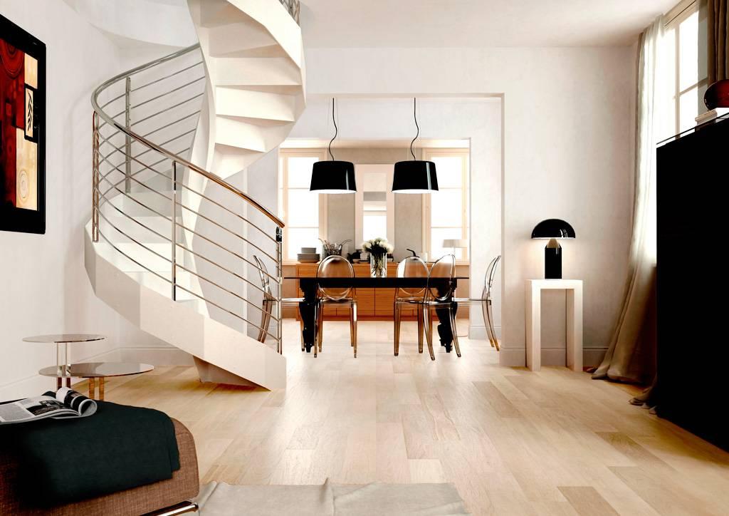 Escaleras de caracol para decorar - Enesca.es