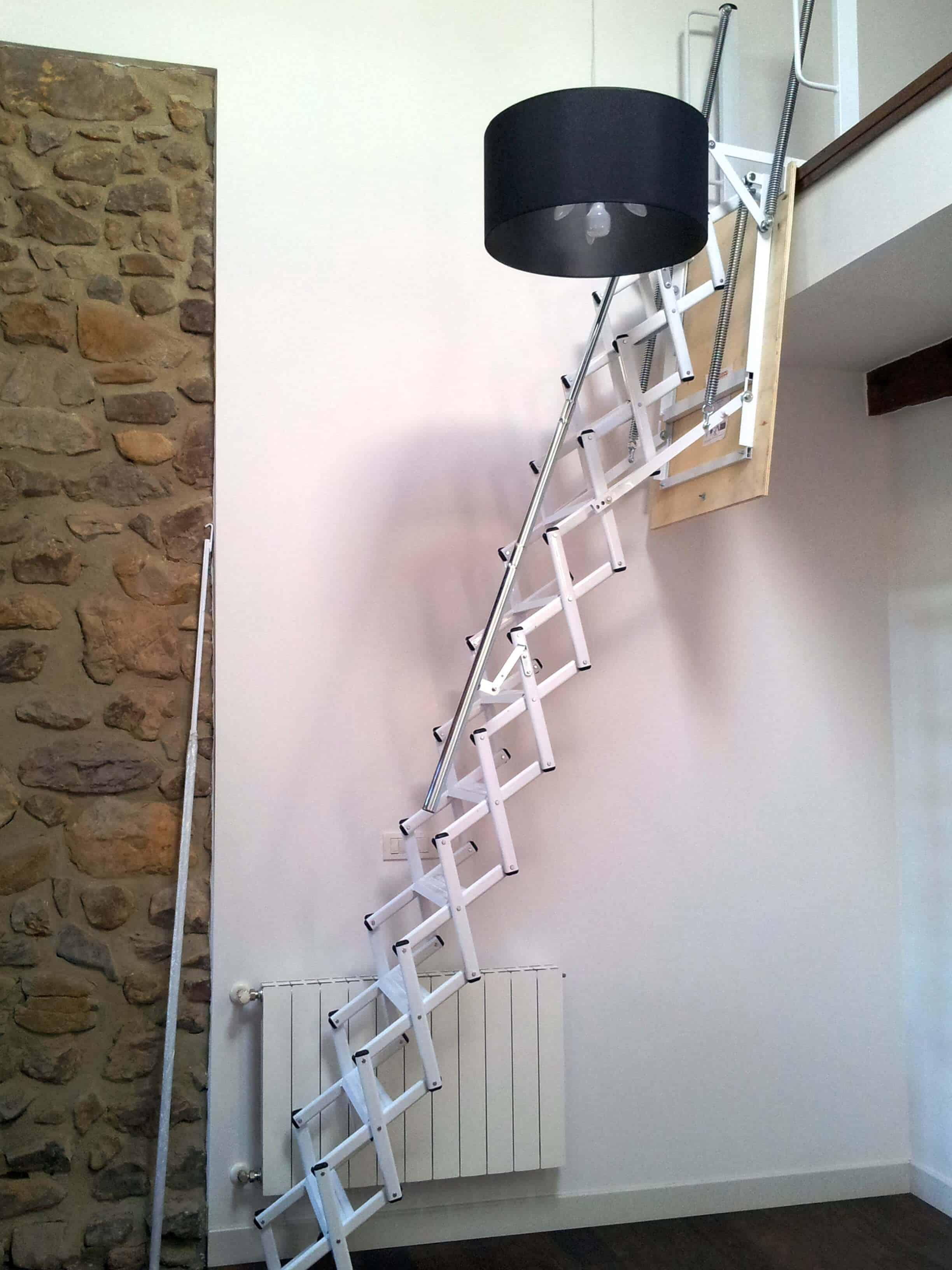 Escalera Plegable Elegant Altillo 1 - Enesca.es
