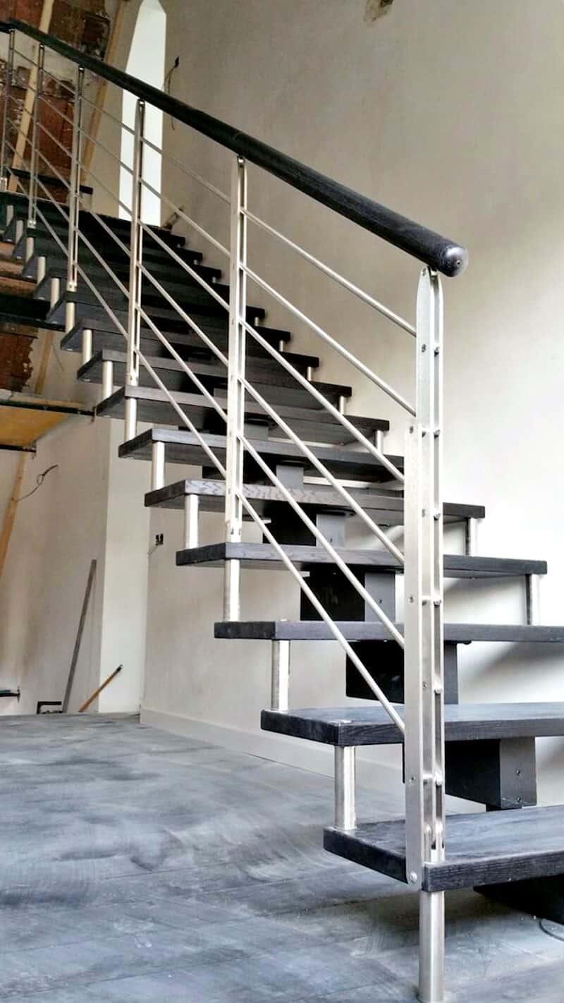Escalera de Madera Doxa Wood 3 Aravaca - Enesca.es